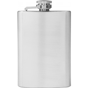 Stainless steel flask (118 ml), silver (8909-32)