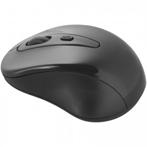 Stanford wireless mouse, solid black, 9,5 x 6,5 x 3,5 cm (12341400)