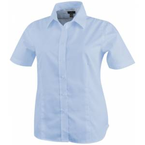 Stirling short sleeve ladies shirt, blue, S (3817141)