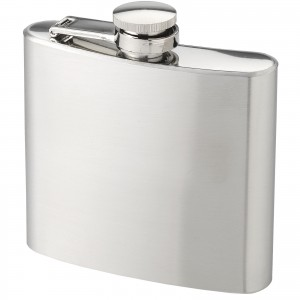 Tennessee 150 ml hip flask, Silver, Grey (10020700)