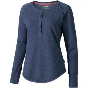 Touch long sleeve ladies shirt, blue, XS (3324353)
