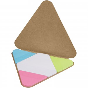 Triangle sticky pad, Brown (10714904)