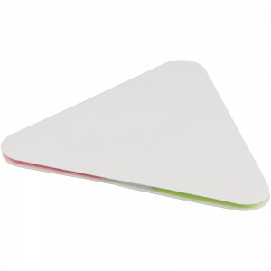 Triangle sticky pad, White (10714902)