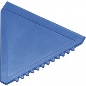 Triangular plastic ice scraper, Blue (8761-05)