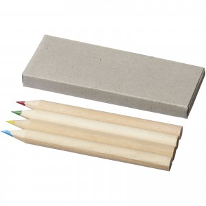 Tullik 4-piece coloured pencil set, Natural (10706600)