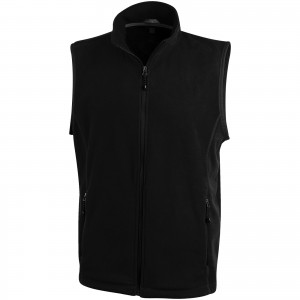 Tyndall micro fleece bodywarmer, solid black (3942599)