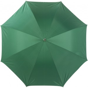 Umbrella with silver underside, Green/silver (4096-54)