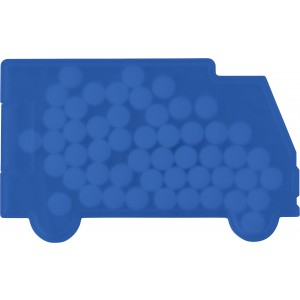 Van shaped mint card., cobalt blue (6679-23)