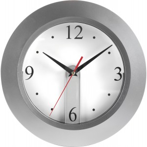 Wall clock, detachable dial, Silver (4451-32)