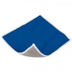Wiped screen cleaning cloth, Blue (13420002)