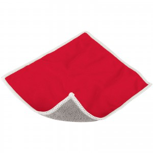 Wiped screen cleaning cloth, Red (13420001)
