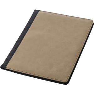 A4 Pad folio with PU cover, brown (7231-11)
