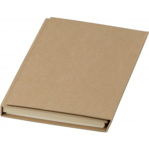 Cardboard writing folder, brown (8273-11)