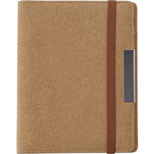 Cork portfolio, brown (0965-11CD)